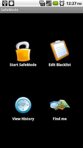 SafeMode - screenshot