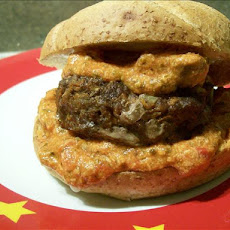Mozzarella Sauced Spicy Burgers