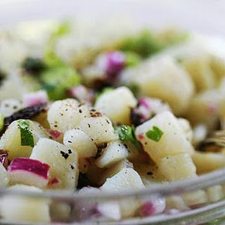 Mom's Warm Potato Salad