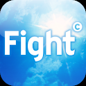Sun safe. Fight cancer icon