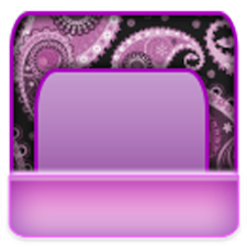 THEME - Purple Paisley