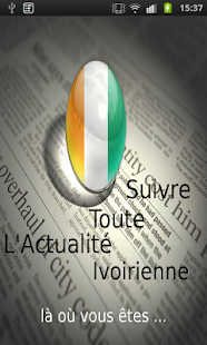 Cote d'ivoire Newspapers - screenshot