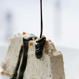 http://www.coolinarika.com/recept/semifreddo-s-bademima/Najfiniji semifreddo  <3 <3 <3 by Alka Smile - Food & Drink Candy & Dessert