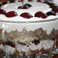 Cherry Cloud Tiramisu