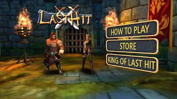 Screenshot of Last Hit