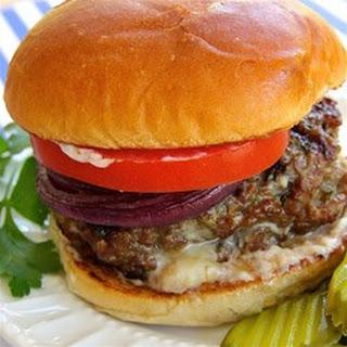Gorgonzola Cheese Burgers Recipes