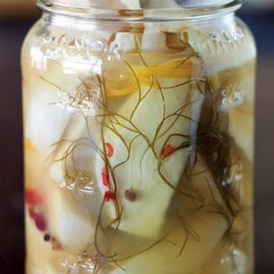Pickled Fennel with Orange Zest