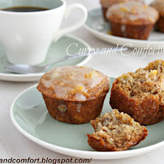 Banana-nut Orange Marmalade Muffins
