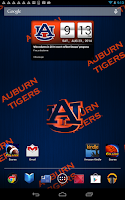 Screenshot of Auburn Tigers Live Clock