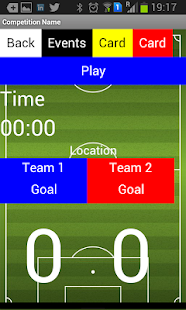 ScoreKeeper Soccer Referee App - screenshot
