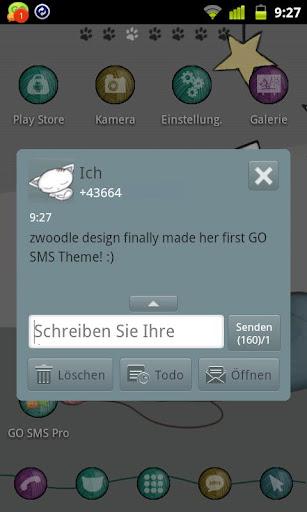【免費個人化App】Kitten Theme GO SMS-APP點子