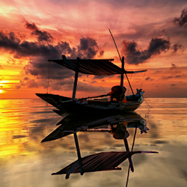 stay sunrises by Ahmad Sahroni - Transportation Boats