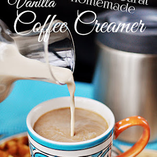 All-Natural Homemade Vanilla Coffee Creamer