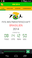 Screenshot of WM 2014 - Info App (Deutsch)