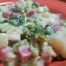 Ham and Broccoli Casserole