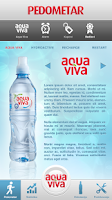 Screenshot of Aqua Viva Pedometar