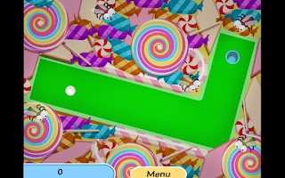 Screenshot of Minigolf Mania