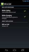 Screenshot of Wifi on Call