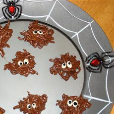 Halloween Chocolate Spider Treats