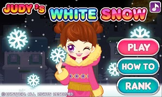 Screenshot of Judy's White Snow-Girls Game