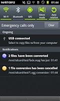 Screenshot of ARMV7 VFPV3 VidCon Codec