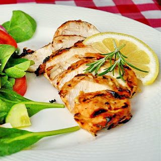 Lemon and Rosemary Marinated Grilled Chicken