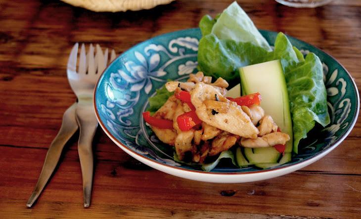 Chicken stir-fry Wraps Recipe | Yummly