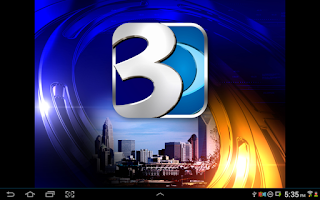 Screenshot of WBTV 3 Local News