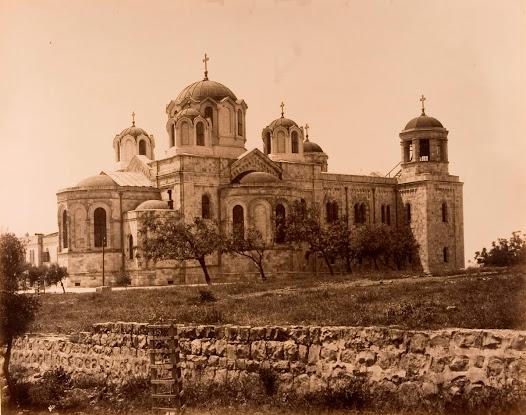 The Russian Church in Jerusalem