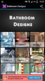 Bathroom Designs - screenshot