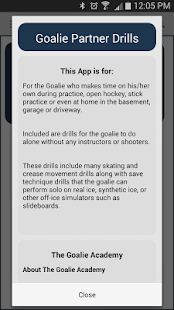 kApp - Goalie Partner Drills - screenshot