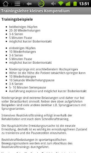 【免費醫療App】PhysiokompendiumTrainingslehre-APP點子