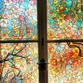 Window of colors by Dalia Kager - Buildings & Architecture Other Interior