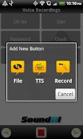 Screenshot of SoundIt! Custom Soundboard