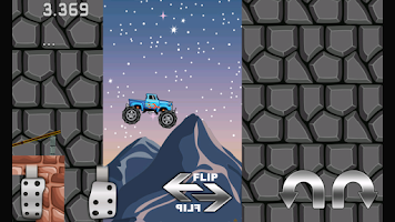 Screenshot of Monster Truck Crazy Adventure