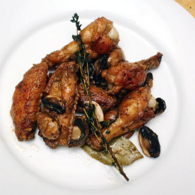Ferran Adrià's Chicken Wings with Mushrooms