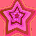 Panda Home Pink Inner Stars icon