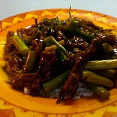 Stir-Fried Pork in Hoisin Sauce