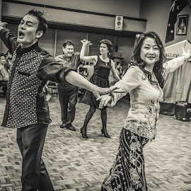 Ball room dancers by Irwan Budiarto - News & Events Entertainment ( performance, show, couple, ballroom dance,  )