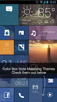 Screenshot of ColorBox GO Locker Theme