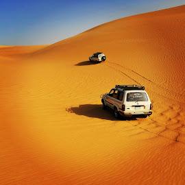 by Ellys Purwandari - Instagram & Mobile Android ( mobilography, desert, mobile photos, sport, egypt )