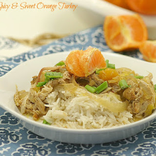 Slow Cooker Sweet and Spicy Orange Turkey