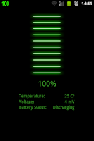 Screenshot of Batteria - Battery Indicator