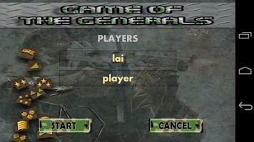 Screenshot of Game Of The Generals