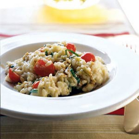 Risotto with Fresh Mozzarella, Grape Tomatoes, and Basil Recept ...