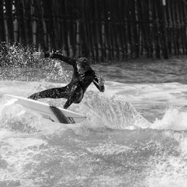 Levitate by Chuck Kelly - Sports & Fitness Surfing ( hang10, san diego, cali, surfing, california, waves, surf )