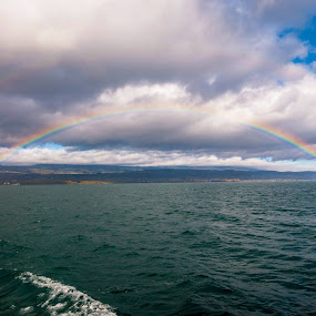 Double Rainbow shot.  by Kean Low - Landscapes Travel