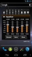 Screenshot of Audio Fx Widget