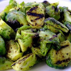 Shredded Brussels Sprouts and Scallions