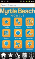 Screenshot of Myrtle Beach Mobile